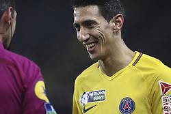 December 13, 2017 - Strasbourg, France - ANGEL DI MARIA 11 of PSG during the french League Cup match, Round of 16, between Strasbourg and Paris Saint Germain on December 13, 2017 in Strasbourg, France. (Credit Image: © Elyxandro Cegarra/NurPhoto via ZUMA Press)