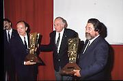 Scudetti 1987. Le premiazioni a Milano<br /> morbelli, vinci