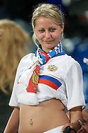 21-06-2008: Voetbal: Nederland-Rusland: Basel <br /> Russische supporter<br /> Foto: Geert van Erven
