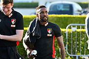 Jermain Defoe (18) of AFC Bournemouth arriving at the Vitality Stadium before the Premier League match between Bournemouth and Manchester United at the Vitality Stadium, Bournemouth, England on 18 April 2018. Picture by Graham Hunt.
