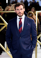 Sam Claflin attending the Charlie's Angels UK Premiere at the Curzon Mayfair, London.