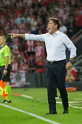 September 15, 2018 - Berizzo of Athletic Club in action during the match played in Anoeta Stadium between Athletic Club and Real Madrid CF in Bilbao, Spain, at Sept. 15th 2018. Photo UGS/AFP7 (Credit Image: © AFP7 via ZUMA Wire)