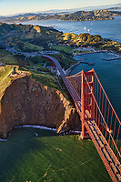 Golden Gate Bridge, Fort Baker, Marin Headlands