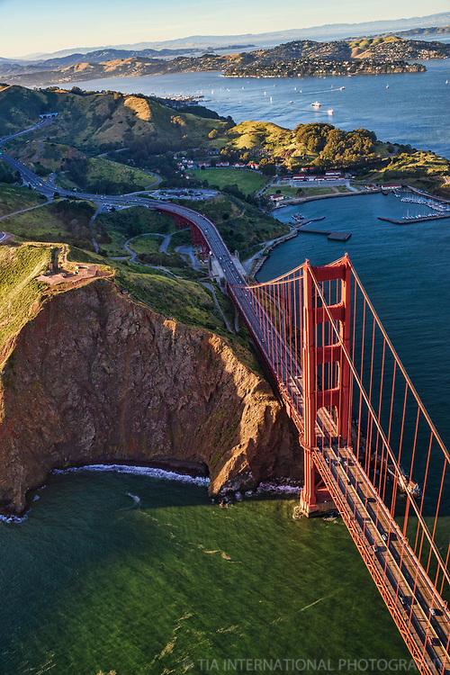 Golden Gate Bridge, Fort Baker, Marin Headlands