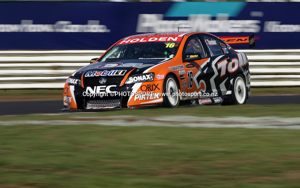 Toll HSV Dealer Team's Garth Tanner in action during Race 2 at the Placemaker V8 Supercars in Pukekohe, New Zealand, on Sunday 22 April 2007. Toll HSV Dealer Team's Garth Tanner won race 2. Photo: Michael Bradley/PHOTOSPORT
