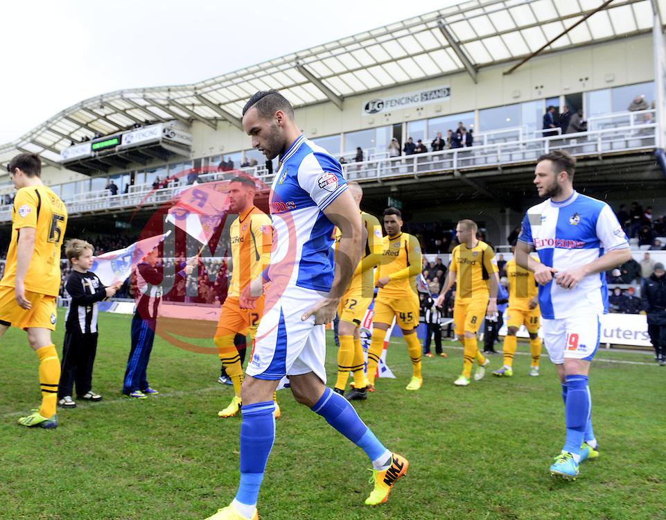 - Photo mandatory by-line: Joe Meredith/JMP - Tel: Mobile: 07966 386802 25/01/2014 - SPORT - FOOTBALL - Memorial Stadium - Bristol - Bristol Rovers v Newport County - Sky Bet League Two