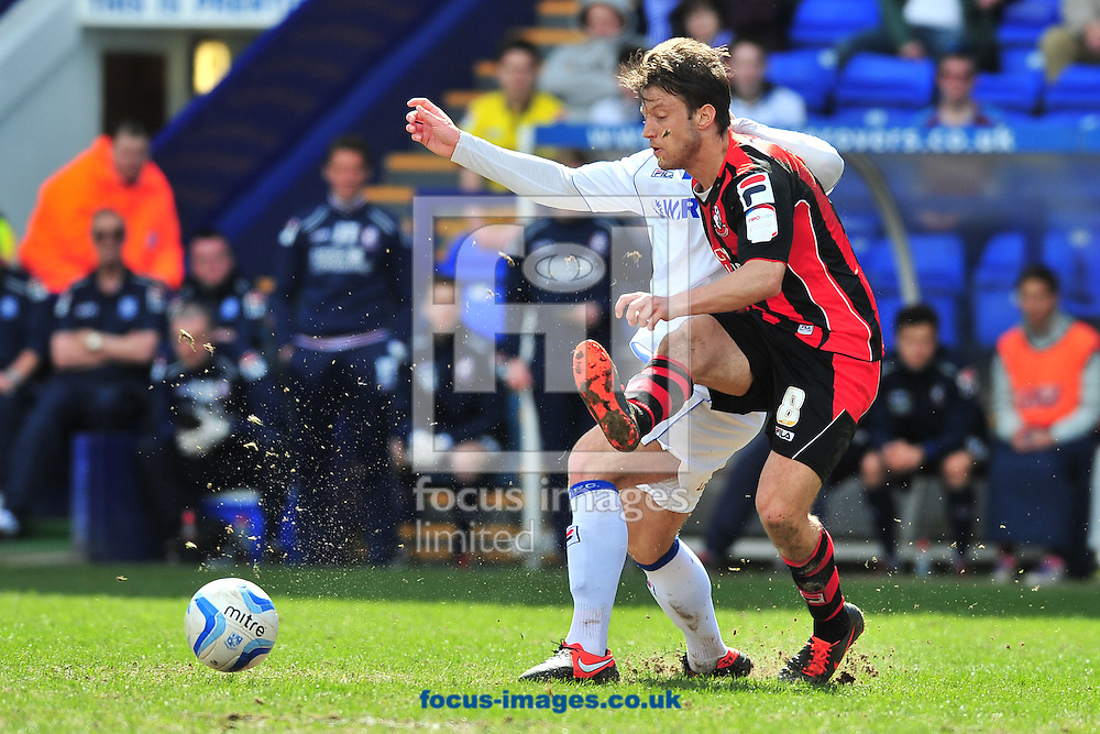 Picture by Ste Jones/Focus Images Ltd +44 7706 592282.27/04/2013.Harry Arter of Bournemouth during the npower League 1 match at Prenton Park, Birkenhead.