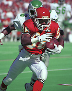 Kansas City Chief wide receiver J. J. Birden during game action against the Philadelphia Eagles at Arrowhead Stadium in Kansas City, Missouri in 1993.