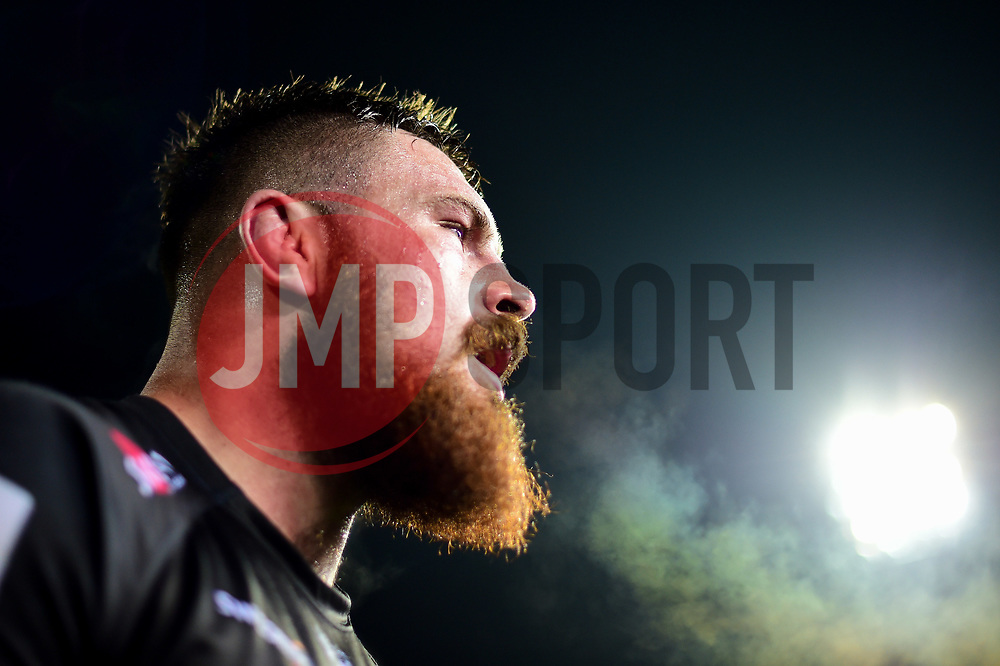 Marcus Street of Exeter Braves after the final whistle of the match - Mandatory by-line: Ryan Hiscott/JMP - 01/04/2019 - RUGBY - Sandy Park Stadium - Exeter, England - Exeter Braves v Harlequins - Premiership Rugby Shield
