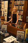 VICKY WARD;  Book party for 'The Liar's Ball' by Vicky Ward hosted by  Sir Evelyn  de Rothschild at Henry Sotheran's, 2 Sackville Street London. 25 November 2014
