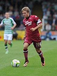 Derby County's Jamie Ward  - Photo mandatory by-line: Alex James/JMP - Tel: Mobile: 07966 386802 24/08/2013 - SPORT - FOOTBALL - Huish Park - Yeovil -  Yeovil Town V Derby County - Sky Bet Championship