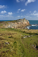 Giant's Castle on the coast of St Mary's, Isles of Scilly