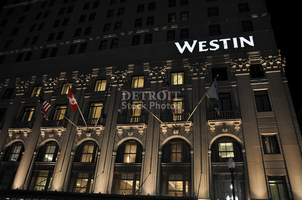 Westin Book Cadillac Hotel Downtown Detroit Detroit Stock Photos