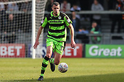 Forest Green Rovers Haydn Hollis runs forward during the EFL Sky Bet League 2 match between Barnet and Forest Green Rovers at The Hive Stadium, London, England on 7 April 2018. Picture by Shane Healey.