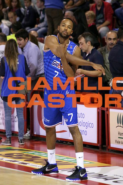 DESCRIZIONE : Campionato 2015/16 Giorgio Tesi Group Pistoia - Enel Brindisi<br /> GIOCATORE : Harris Alexander <br /> CATEGORIA : Riscaldamento Before Pregame<br /> SQUADRA : Enel Brindisi<br /> EVENTO : LegaBasket Serie A Beko 2015/2016<br /> GARA : Giorgio Tesi Group Pistoia - Enel Brindisi<br /> DATA : 04/10/2015<br /> SPORT : Pallacanestro <br /> AUTORE : Agenzia Ciamillo-Castoria/S.D'Errico<br /> Galleria : LegaBasket Serie A Beko 2015/2016<br /> Fotonotizia : Campionato 2015/16 Giorgio Tesi Group Pistoia - Enel Brindisi<br /> Predefinita :