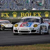 Team Brumos Racing competing at the Rolex 24 at Daytona 2012