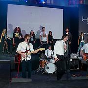 NLD/Amsterdam/20130404- Presentatie kledinglijn Rock & Roll Junkie van Lola Brood, modeshow