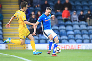 GOAL Bradden Inman scores for Rochdale 3-0 during the The FA Cup match between Rochdale and Bromley at Spotland, Rochdale, England on 4 November 2017. Photo by Daniel Youngs.
