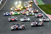 WEC Start during the FIA World Endurance Championships at Silverstone, Towcester, United Kingdom on 17 April 2016. Photo by Craig McAllister.