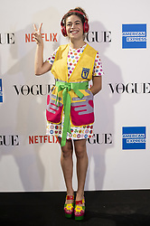September 13, 2018 - Madrid, Spain - Cosima Ramirez attends to photocall of Vogue Fashion Night Out 2018 in Madrid, Spain. September 14, 2018. (Credit Image: © Coolmedia/NurPhoto/ZUMA Press)