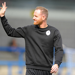 TELFORD COPYRIGHT MIKE SHERIDAN Gavin Cowan during the National League North fixture between AFC Telford United and Chester FC at the New Bucks Head on Saturday, September 14, 2019<br /> <br /> Picture credit: Mike Sheridan<br /> <br /> MS201920-018