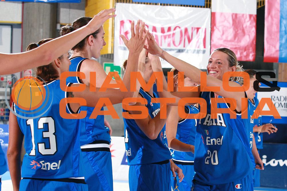 DESCRIZIONE : Bormio Torneo Preparazione Europei Nazionale Femminile 2007 Italia Bulgaria<br /> GIOCATORE : Macchi<br /> SQUADRA : Italia<br /> EVENTO : Torneo Preparazione Europei Nazionale Femminile 2007<br /> GARA : Italia Bulgaria<br /> DATA : 12/08/2007<br /> CATEGORIA : Curiosita<br /> SPORT : Pallacanestro<br /> AUTORE : Agenzia Ciamillo-Castoria/S.Ceretti