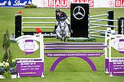 Michael Whitaker - Cassionato<br /> FEI European Championships Aachen 2015<br /> © DigiShots