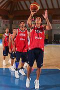 DESCRIZIONE : Bormio Raduno Collegiale Nazionale Maschile Allenamento <br /> GIOCATORE : Marco Mordente <br /> SQUADRA : Nazionale Italia Uomini <br /> EVENTO : Raduno Collegiale Nazionale Maschile <br /> GARA : <br /> DATA : 28/07/2008 <br /> CATEGORIA : Tiro <br /> SPORT : Pallacanestro <br /> AUTORE : Agenzia Ciamillo-Castoria/S.Silvestri <br /> Galleria : Fip Nazionali 2008 <br /> Fotonotizia : Bormio Raduno Collegiale Nazionale Maschile Allenamento <br /> Predefinita :