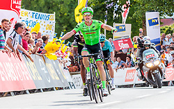 04.07.2017, Pöggstall, AUT, Ö-Tour, Österreich Radrundfahrt 2017, 2. Etappe von Wien nach Pöggstall (199,6km), im Bild Etappensieger Tom Jelte Slagter of Netherlands (Cannondale Drapac Professional Cycling Team) // Stage Winner Tom Jelte Slagter of Netherlands (Cannondale Drapac Professional Cycling Team) during the 2nd stage from Vienna to Pöggstall (199,6km) of 2017 Tour of Austria. Pöggstall, Austria on 2017/07/04. EXPA Pictures © 2017, PhotoCredit: EXPA/ JFK