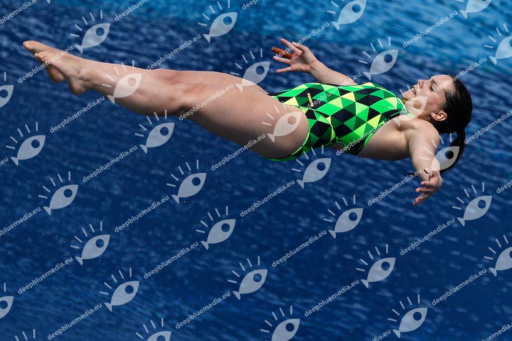 Annabelle Smith australia <br /> Diving Women's 3m Springboard - Tuffi Trampolino 3m Donne  <br /> Barcellona 26/7/2013 Piscina Municipal <br /> Barcelona 2013 15 Fina World Championships Aquatics <br /> Foto Andrea Staccioli Insidefoto