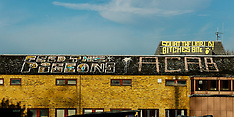19 Dec 2017 - Roof top protest in Camberwell, South London.