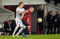 Fotball<br /> Frankrike<br /> 15.03.2015<br /> Foto: Panoramic/Digitalsport<br /> NORWAY ONLY<br /> <br /> Florent BALMONT (lille) vs KONRADSEN Anders (Rennes)<br /> Losc vs Rennes fc - L1 - 03/15/2015