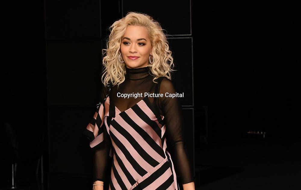 Rita Ora- hmv Album Launch Event at hmv 363 oxford street on 24 November 2018, London, UK.