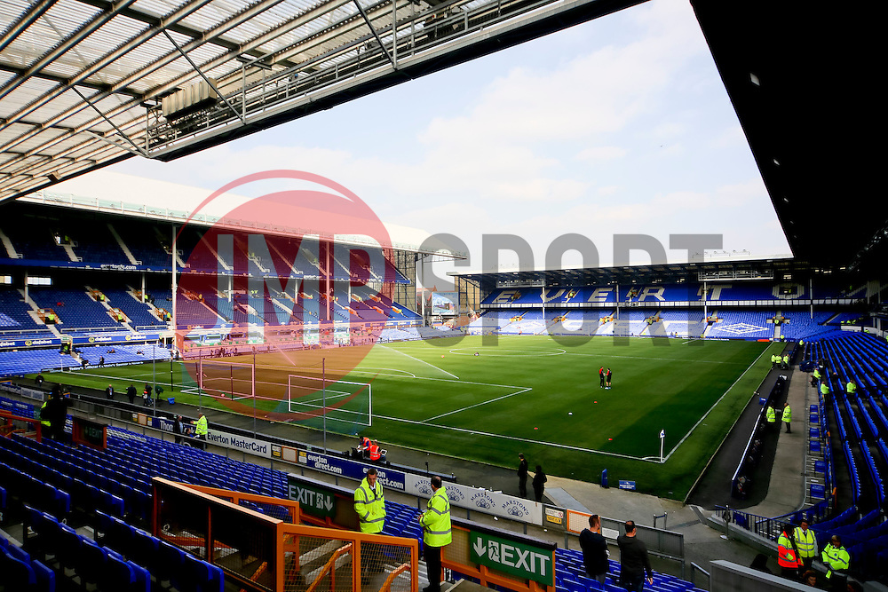 A general view of Goodison Park - Mandatory byline: Matt McNulty/JMP - 07966 386802 - 04/10/2015 - FOOTBALL - Goodison Park - Liverpool, England - Everton  v Liverpool - Barclays Premier League