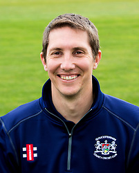 for Gloucestershire CCC poses for a headshot - Mandatory by-line: Robbie Stephenson/JMP - 04/04/2016 - CRICKET - Bristol County Ground - Bristol, United Kingdom - Gloucestershire  - Gloucestershire Media Day