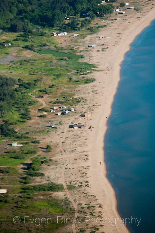 Aerial photographs of Gradina beach