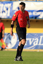 Referee Saso Habjancic at 31st Round of PrvaLiga Telekom Slovenije 2008/2009 league match between NK Luka Koper and NK Primorje, on May 2, 2009, in SRC Bonifika, Koper, Slovenia. Luka Koper won 1:0. (Photo by Vid Ponikvar / Sportida)