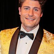NLD/Hilversum/20110208 - Prins Willem Alexander aanwezig bij de Gouden Apenstaarten 2011, Koert-Jan de Bruijn