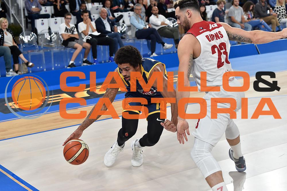 McAdoo James Michael<br /> FIAT Torino - AX Armani Exchange Milano<br /> Zurich Connect Supercoppa 2018 - Finale -<br /> Legabasket Serie A 2018-2019<br /> Brescia 29/09/2018<br /> Foto M.Matta/Ciamillo &amp; Castoria