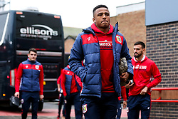 Niclas Eliasson of Bristol City arrives at the City Ground for the Sky Bet Championship fixture against Nottingham Forest - Mandatory by-line: Robbie Stephenson/JMP - 19/01/2019 - FOOTBALL - The City Ground - Nottingham, England - Nottingham Forest v Bristol City - Sky Bet Championship