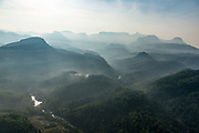 The Hill country with Adams Peak on the horizon