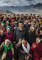 Ladakh 2016 Dr Sanduk Ruit and Tilganga Outreach team.
