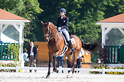 Samantha Thurman Baker - Douglas IV<br /> FEI European Dressage Championships for Young Riders and Juniors 2013<br /> © DigiShots