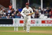 Tom Abell of Somerset batting during the Specsavers County Champ Div 1 match between Somerset County Cricket Club and Essex County Cricket Club at the Cooper Associates County Ground, Taunton, United Kingdom on 23 September 2019.