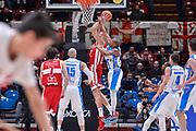 Marco Cusin, William Hatcher<br /> Olimpia EA7 Emportio Armani Milano - Banco di Sardegna Dinamo Sassari<br /> Legabasket Serie A LBA PosteMobile 2017/2018<br /> Milano, 04/03/2018<br /> Foto L.Canu / Ciamillo-Castoria