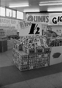 16/3/1966<br /> 3/16/1966<br /> 16 March 1966<br /> <br /> Vim Display at Quinn Supermarket on Fingal St.