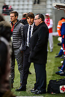Jean Pierre CAILLOT / Jean Luc VASSEUR - 25.01.2015 - Reims / Lens  - 22eme journee de Ligue1<br /> Photo : Dave Winter / Icon Sport *** Local Caption ***