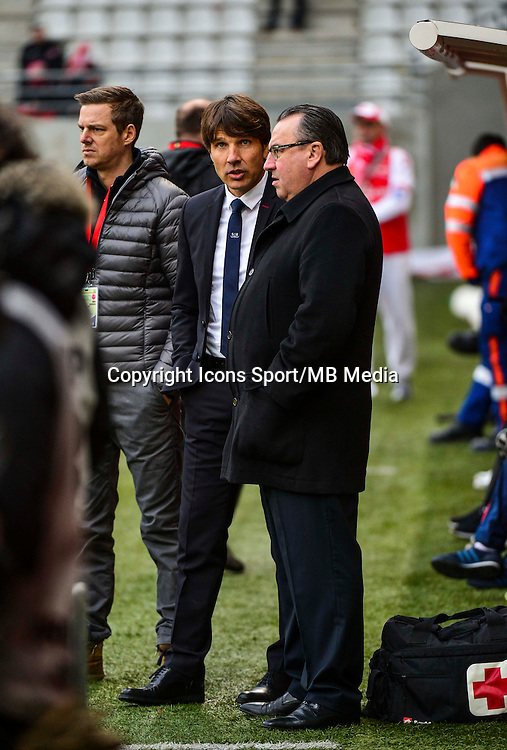 Jean Pierre CAILLOT / Jean Luc VASSEUR - 25.01.2015 - Reims / Lens  - 22eme journee de Ligue1<br /> Photo : Dave Winter / Icon Sport *** Local Caption ***
