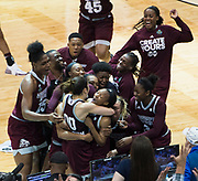 NCAA Women's Final Four game between Mississippi State and UCONN at the American Airlines Center in Dallas, Texas on March 31, 2017.  (Cooper Neill)