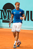 David Ferrer during the Madrid Open at Manzanares Park Tennis Centre, Madrid<br /> Picture by EXPA Pictures/Focus Images Ltd 07814482222<br /> 05/05/2016<br /> ***UK & IRELAND ONLY***<br /> EXPA-ESP-160505-0086.jpg